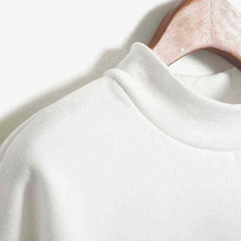 Amigos TV mujeres cuello alto negro Hoodies invierno Kawaii ropa imprimir Harajuku talla grande mujer ropa sudadera moda