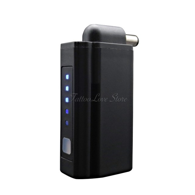 Portable Wireless Mini Tattoo Power Supply Power Bank for Tattoo Pen with DC & RCA Connector