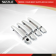 Chrome Plating ABS Plastic Car Door Handle Cover 4D No PSKH For Toyota Scion 2005-2011