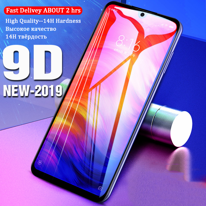 Image 2 - VALAM Tempered Glass Screen Protector For Xiaomi Redmi Note 7 Pro redmi 7 7A glass Cover Full Body Redmi 7a Note7 Pro Glass-in Phone Screen Protectors from Cellphones & Telecommunications