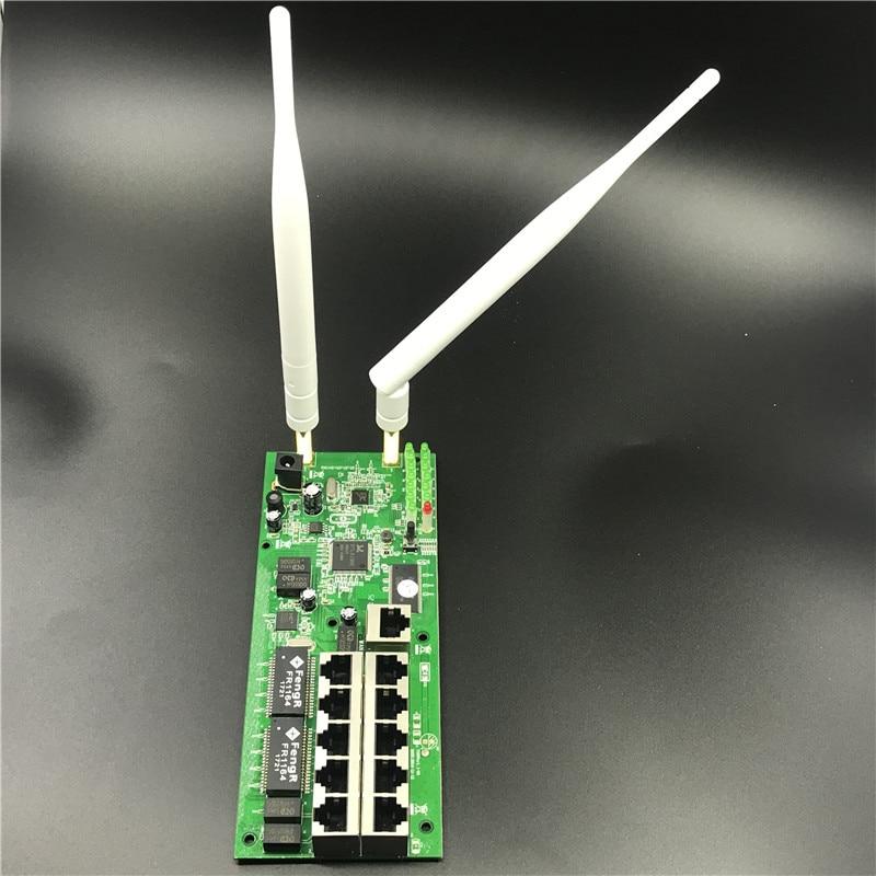 Wireless Router Motherboard-Module Shell-Broadband Home-Kit Fast Metal Custom Oem10-Port