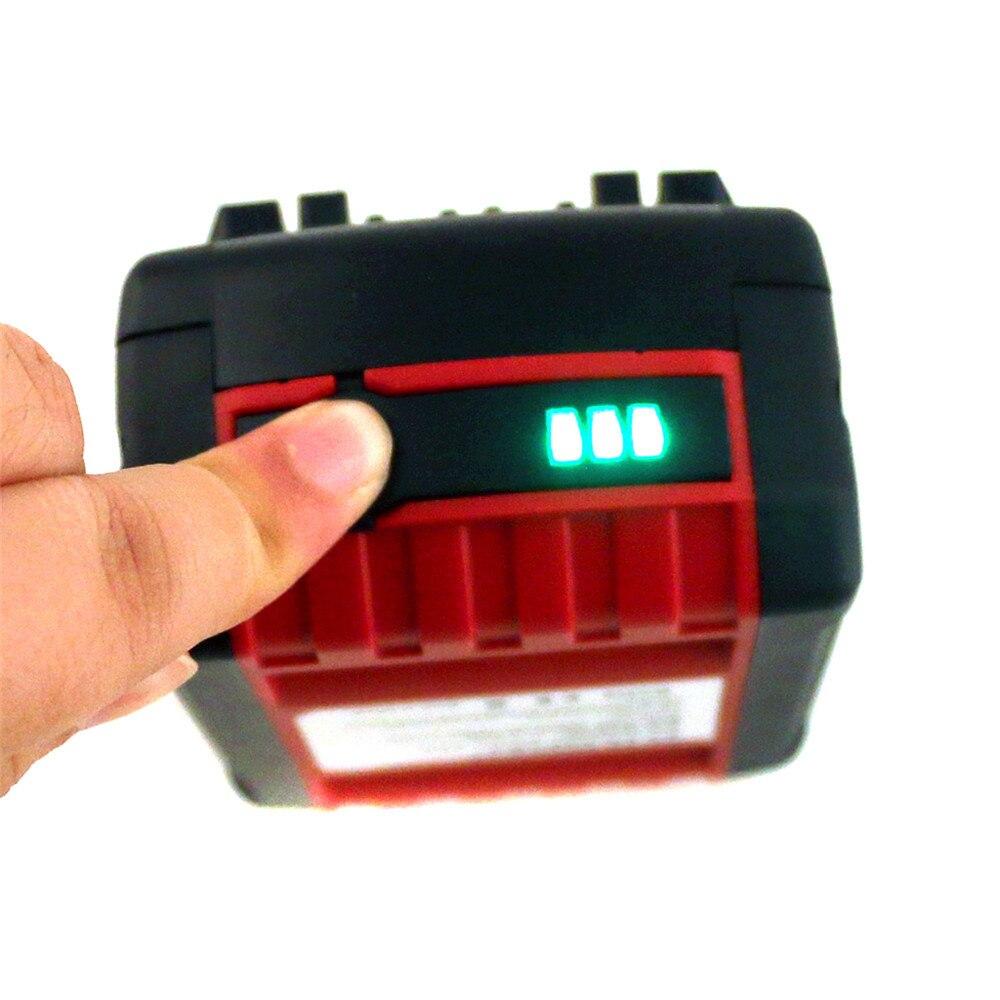 1 PC 18 V 4000 mAh Rechargeable Batterie Pack Outils Électriques Batteries de Remplacement Sans Fil pour Bosch Perceuse BAT618 Li-ion VHK18 T50