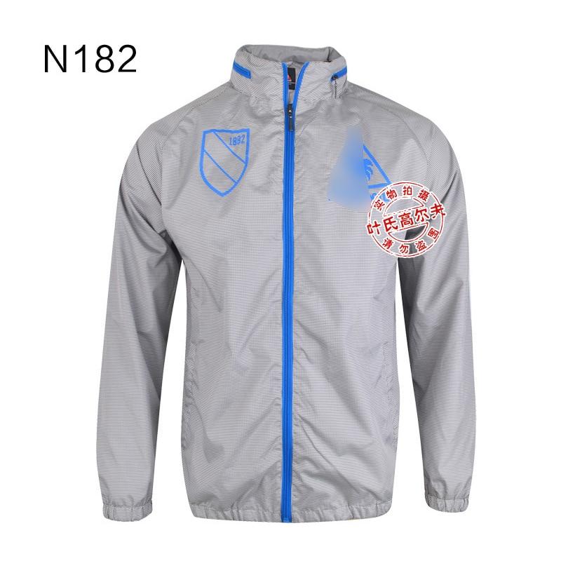 2016 winter font b men s b font golf waterproof windproof full length sleeve golf trench