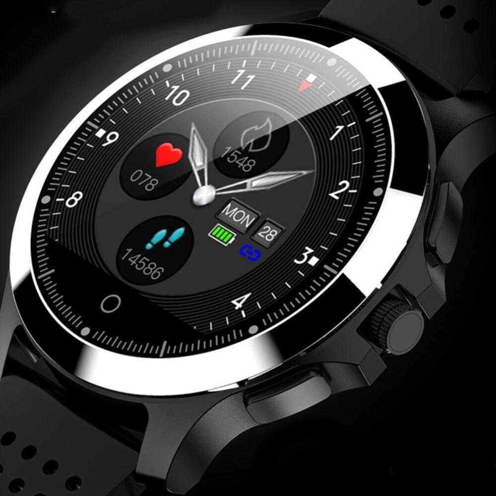 W8 ECG + PPG montre intelligente tension artérielle moniteur de fréquence cardiaque bande IP67 étanche Sport Fitness tracker Bracelet intelligent
