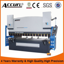 Hydraulic sheet metal Press Brake benders ,  DA52S stainless sheet bending machine with good quality