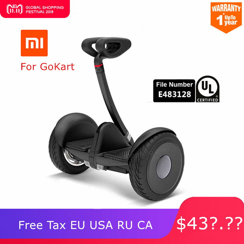 Оригинальный Ninebot Xiaomi Mijia мини самоходный скутер два колеса умный электрический скутер Hoverboard Skate Board для Go kart Kit