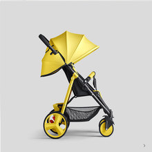 6kg high view Baby Stroller  with  Sit and  Lie Down Free conversion  Super Light and  Umbrella Strollers SLD baby stroller beimens baby stroller highest version 80cm sleep super light baby car eu standard baby strollers brand baby umbrella car