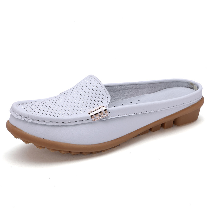 Summer Women Flats Breathable Leather comfortable shoes women chaussures femme Casual Shoes 2017 new summer zapato women breathable mesh zapatillas shoes for women network soft casual shoes wild flats casual shoes