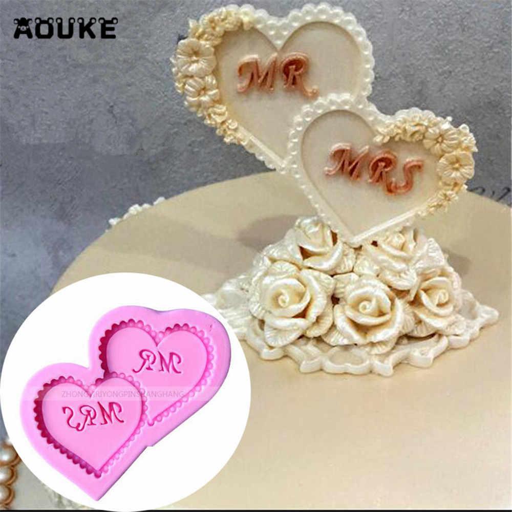 Cake DIY Decor Sugar Chocolate Mold Silicone Fondant Pastry Mould Fondant
