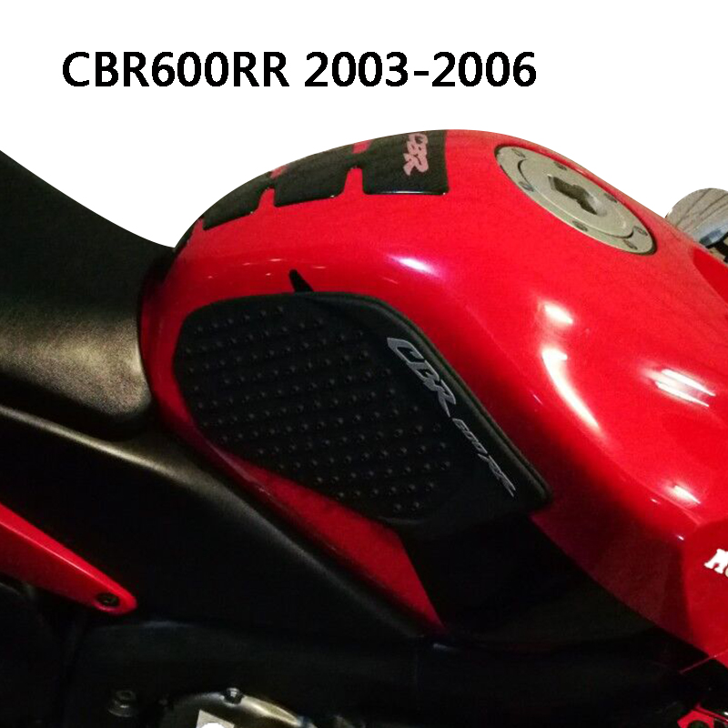 KEMiMOTO Tank Pad Protector Sticker Decal Gas Knee Grip Side Tank Traction Pad For Honda CBR600RR CBR 600 RR 2003 2004 2005 2006