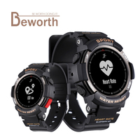 F6 Smartwatch IP68 Waterproof Bluetooth 4.0 Dynamic Heart Rate Monitor Smart Watch with Multi Sport Mode For Android iOS Phone