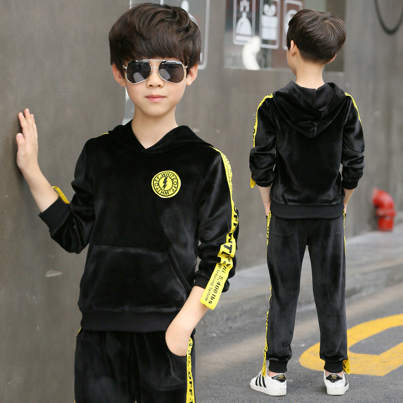 2017 New Sports Suit for a Boy Kids Clothes Tracksuits Costume Overalls Children Winter Costumes Baby Toddler Boys Clothing