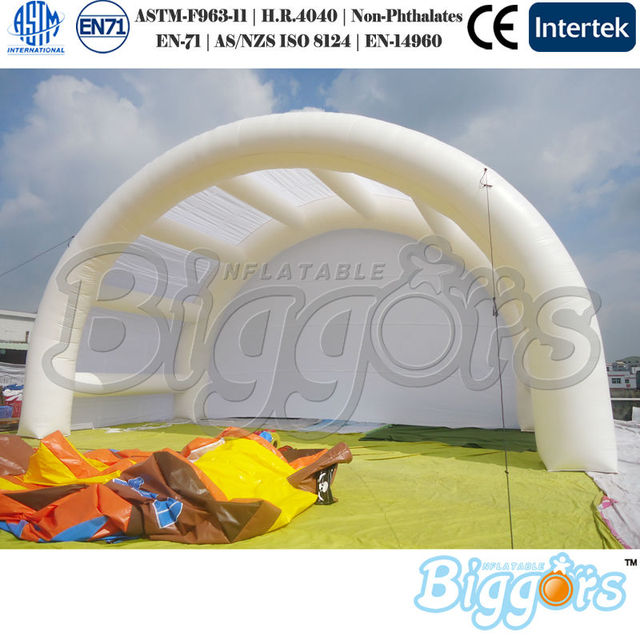 Inflatable Biggors Waterproof Concert Cover Inflatable Stage Tent Shipping by Sea