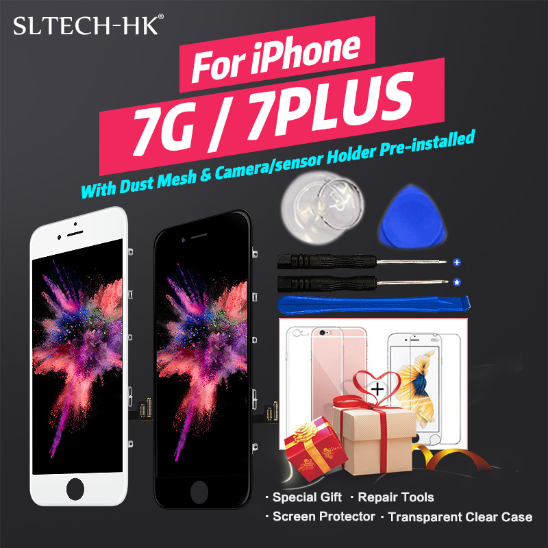 AAA Quality LCD For iPhone 7 7Plus Screen Replacement For Apple 8 8Plus No Dead AAA+++ Quality LCD For iPhone 7 7Plus Screen Replacement For Apple 8 8Plus No Dead Pixel Display 100% With 3D Touch Warranty