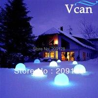 Venta 50 cm luz LED caliente iluminada rgb muebles impermeables para club o jardín interior o exterior