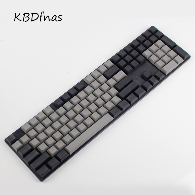 ФОТО Free shipping Dsa keycaps blank printed 108 thick pbt for mechanial keyboard Dsa profiles  ISO ANSI layout