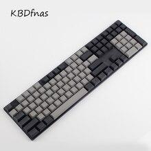 Бесплатная доставка dsa колпачки пустые печатные 108 толстые pbt для Mechanial клавиатура dsa профили iso ansi макет