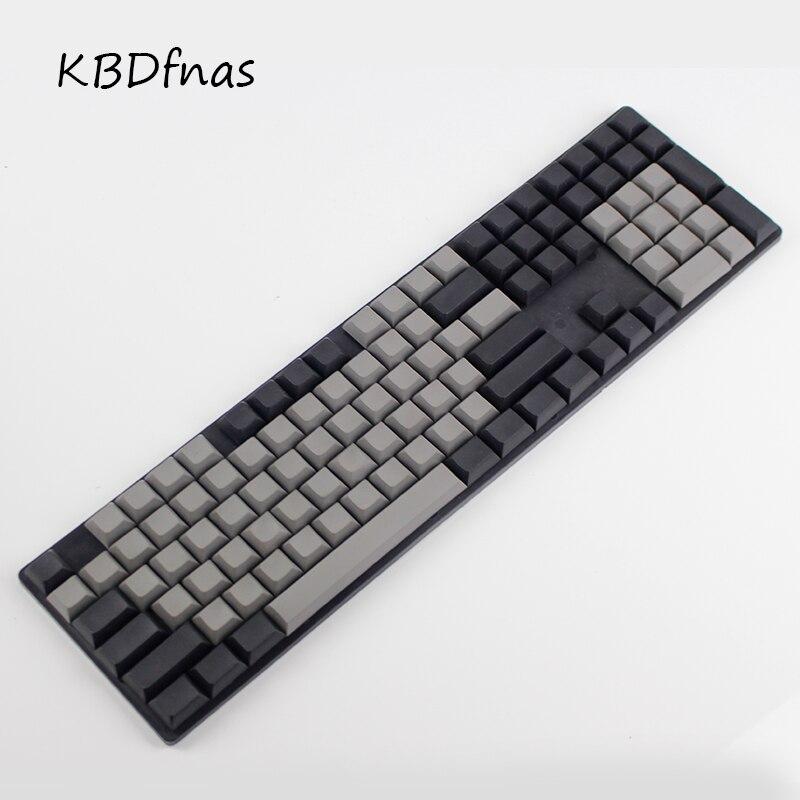 bilder für Freies verschiffen Dsa tastenkappen leer gedruckt 108 starke pbt für mechanial tastatur Dsa profile ISO ANSI layout