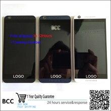 100% Original! für htc desire 626 626g lcd display screen & touchscreen digitizer mit rahmen schwarz, weiß/blau kostenloser versand