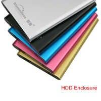 Bluedendless Sata caja HDD de aluminio de la caja externa con cable USB 3,0 rack HDD Disco Duro 2,5 ''Caddy (no incluyen HDD)