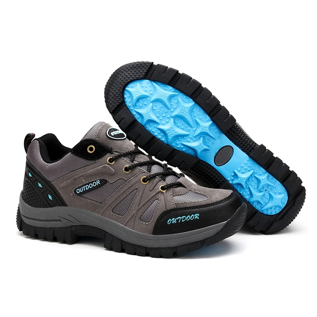 Bolangdi Men Hiking Shoes Sports Sneakers Man Athletic Shoes Waterproof Breathable  big size 39-48