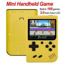 Игровая приставка 8 бит ретро мини карманный портативный игровой