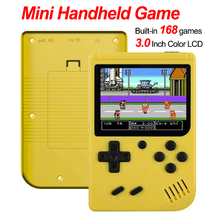 Video Game Console 8 Bit Retro Mini Pocket Handheld Game Player Built-in 168 Classic Games Best Gift for Child Nostalgic Player все цены