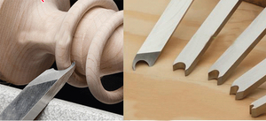 """Image 4 - Hss 포로 링 공구, wooturning gouge 9.5mm (3/8 """")"""