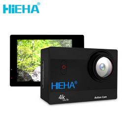 Hieha H68 Sports Cameras HD 24fps 1080P 60fps Wifi Action 4K Camera 2.0' LCD Screen 170D CMOS Action Cam Deportiva Waterproof