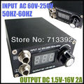 Free Shipping Professional Tattoo Equipment  Digital LCD Display Tattoo Power Supply Hight Quality