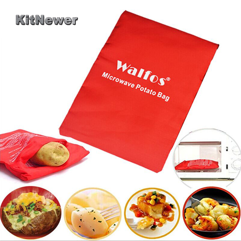 Us 1 88 6 Off 1pcs Potato Bag Microwave Baking Potatoes Cooking Washable Baked Rice Pocket Easy To Cook Kitchen Gadgets In