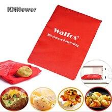 1Pcs Potato Bag Microwave Baking Potatoes Cooking Bag Washable Bag Baked Potatoes Rice Pocket Easy To Cook Kitchen Gadgets sweet potatoes