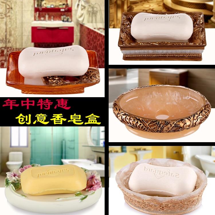 The soap box style manual soap box Lishui fashion resin soap dish soap dish hotel bathroom products
