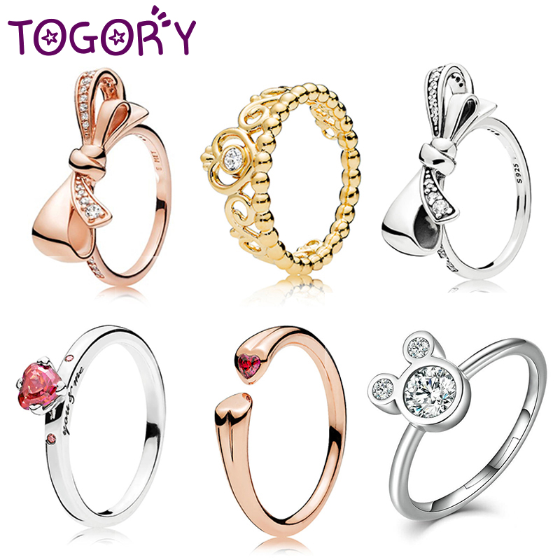 2019 Fashion Weave Crystal Rings For Women Gold/Silver/Rose Gold Color Fine Female Ring Party Engagement Jewelry Wholesale
