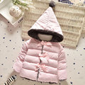 Autumn 2016 baby girl infant clothing brand design hooded jacket outerwear for baby child outfits thick coats girls baby clothes