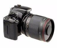 500 мм F/8,0 телефото объектив зеркала с T2 переходное кольцо для Cannon Камера 550D 650D 70D 60D 7D 7D2 760D 77D 80D DSLR Камера
