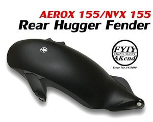 Image 1 - Motorcycle Rear Hugger Fender Mudguard Mudflap Splash Guard Fenderboard For yamaha nvx 155 aerox 155