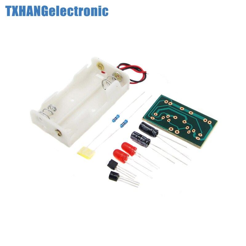 DIY Flash Circuit Multivibrator LED Flashing Circuit Suite Electronic Production