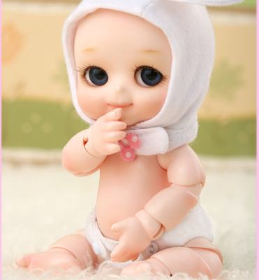 1 12 BJD doll Nappy Choo