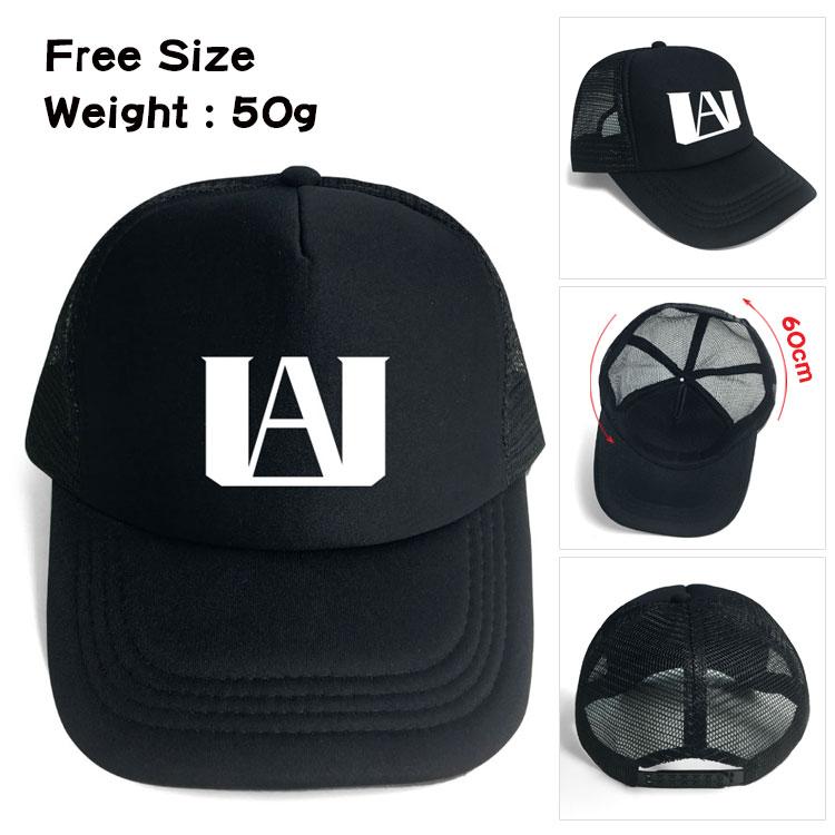 Anime My hero academy  Trucker Cap Hat  Fans Cool Mesh Caps Summer Baseball Net Trucker Caps Hat