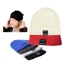 Bluetooth Music Soft Warm Hat With Stereo Headset Speaker Wireless Hands-free Cap JL