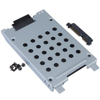 PROMOTION! Hot Sale Hard Drive Caddy Connector for Inspiron 1720 1721   Come with8 pcs screws and a hard disk connector