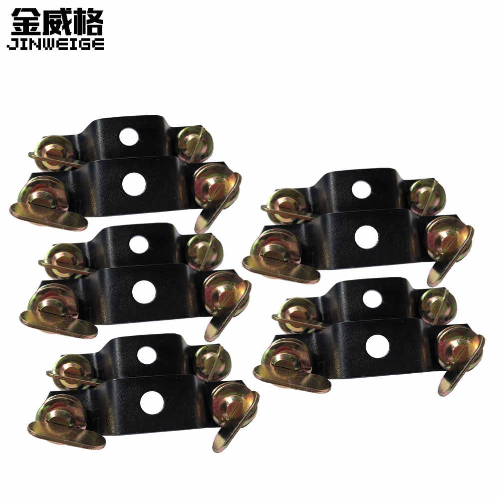 10pcs/lot Aluminum Alloy Omega Hang Clamp Lock Bracket Fast Lock for Stage Moving Head Light Hang Clamp Hook Connector