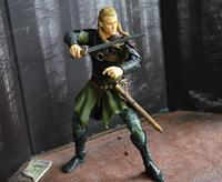 Toybiz Original Garage Kit Classic Toy 16cm The Lord of Rings Legolas with Sword Action Figure Collectible Model Loose Toy