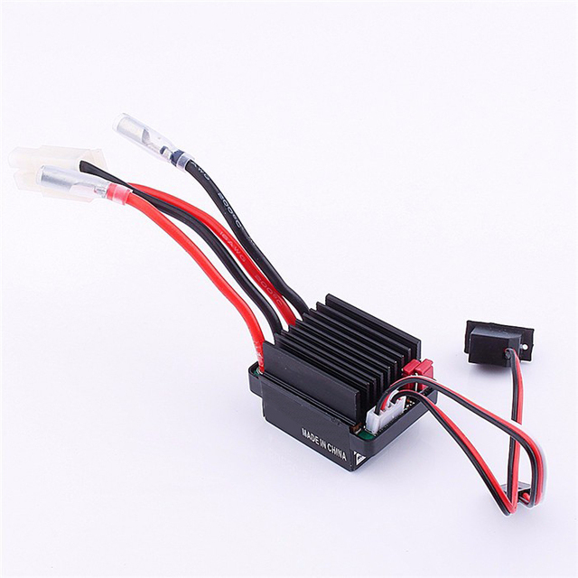 New Black 6-12V ESC 320A Brushed Motor Speed Controller For RC Ship & Boat R/C Hobby