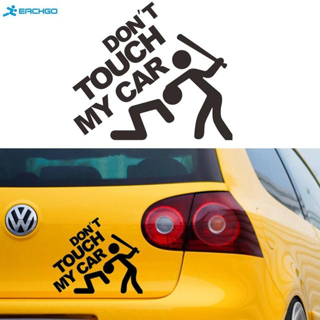 Aliexpresscom  Buy Dont Touch My Car The Car Hd Car Stickers - Vinyl decals for my car