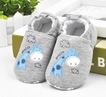 Hooyi хлопковая обувь для мальчика противоскользящие Чехлы для обуви из горного хрусталя, для детей ясельного возраста, для тех, кто только начинает ходить, для новорожденных; обувь для малышей, не начавших ходить носки для девочек - Цвет: 32