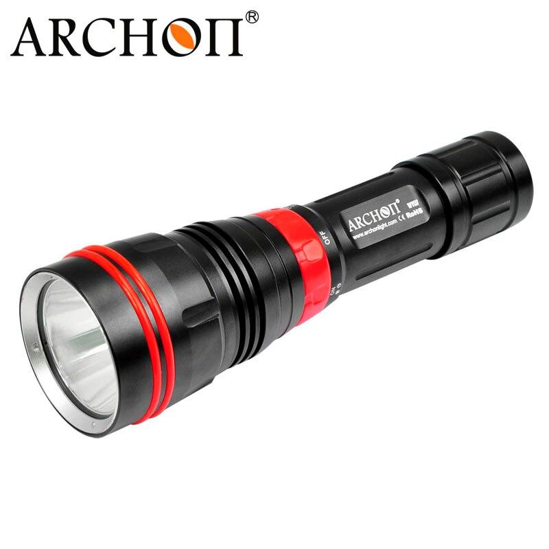 ARCHON DY01 Водонепроницаемый XP L 26650 3 режима 1000 лм Профессиональный Дайвинг Перезаряжаемые светодиодный Flash Light фонарик Подводные 100 м