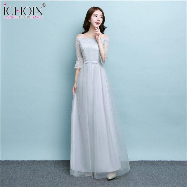 Robe De Soiree Sexy Long Prom Women Dresses 2018 Korean Style Spring Bride  banquet Elegant party 1bca5da9f7e5