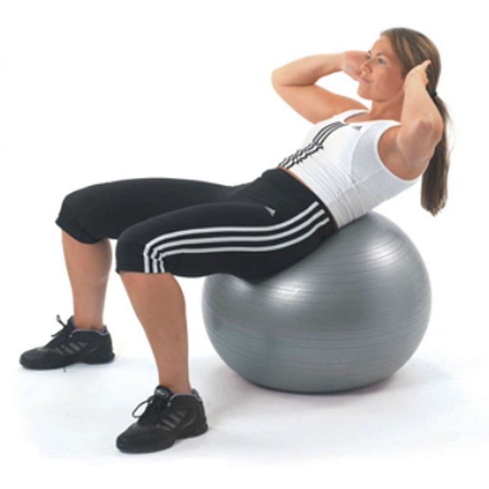 Yoga Ball Physical Fitness ball for fitness Appliance Exercise balance Ball home trainer ...